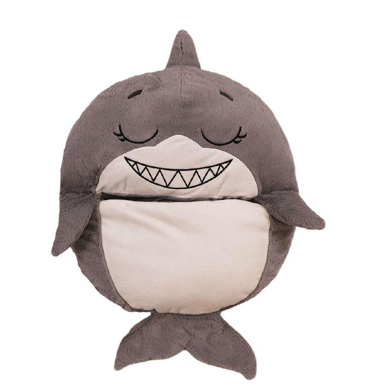 Happy Nappers Gray Shark Standard 137cm, , hi-res