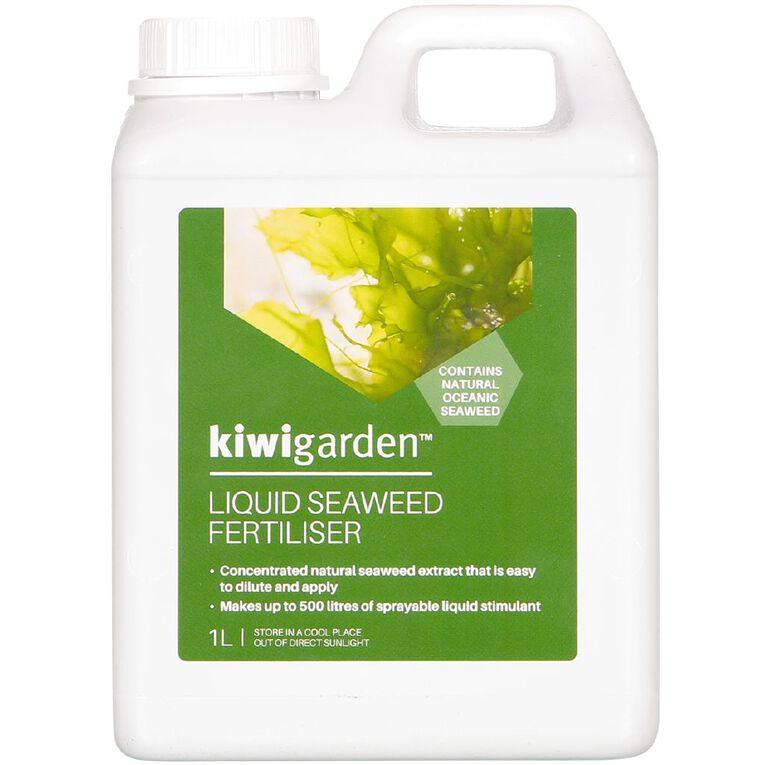 Kiwi Garden Seaweed Fertiliser 1L, , hi-res