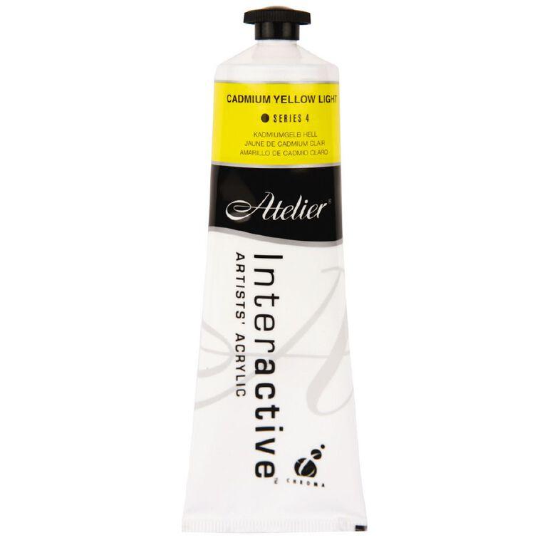 Atelier S4 Cadmium 80ml Light Yellow Yellow, , hi-res