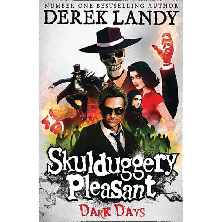 Skulduggery Pleasant #4 Dark Days by Derek Landy N/A, , hi-res