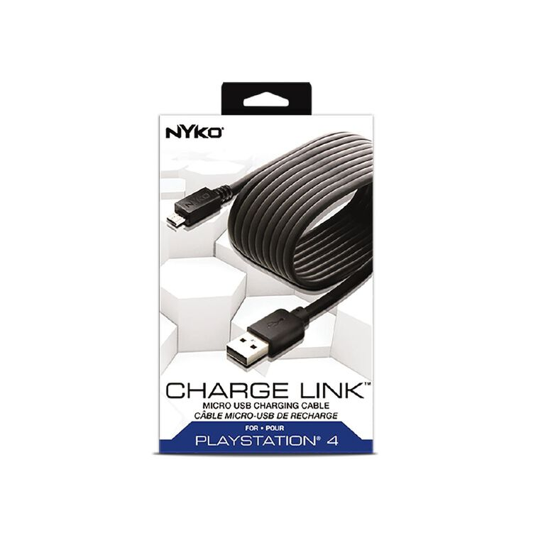 NYKO PS4 Charge Link, , hi-res