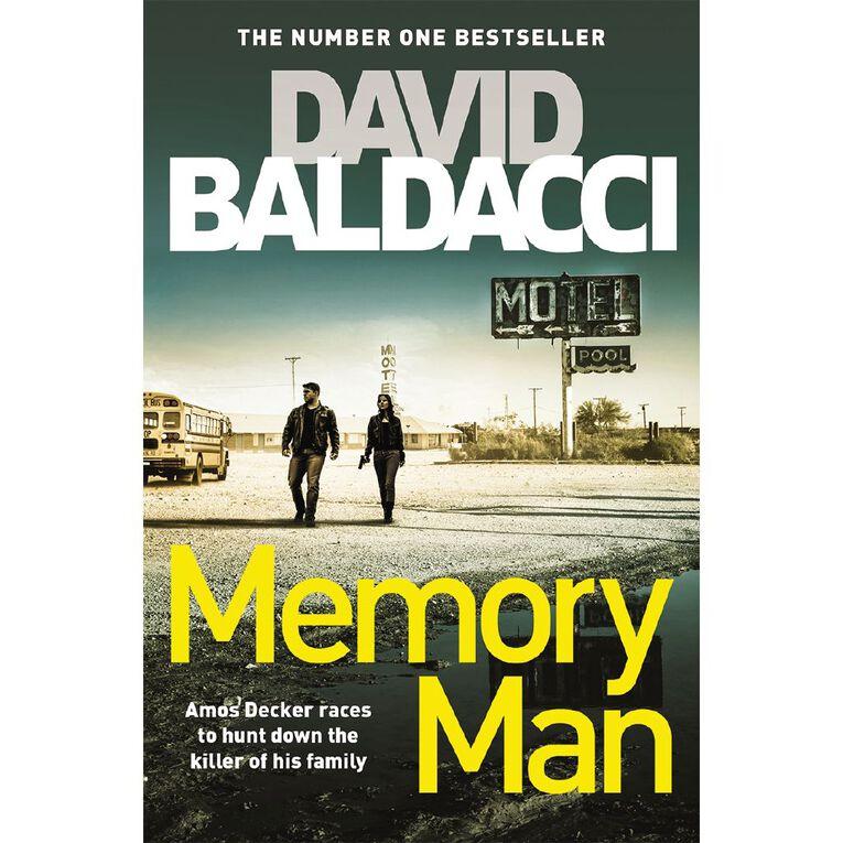 Memory Man by David Baldacci, , hi-res