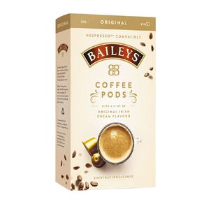 Baileys Coffee Pods 10 Pack