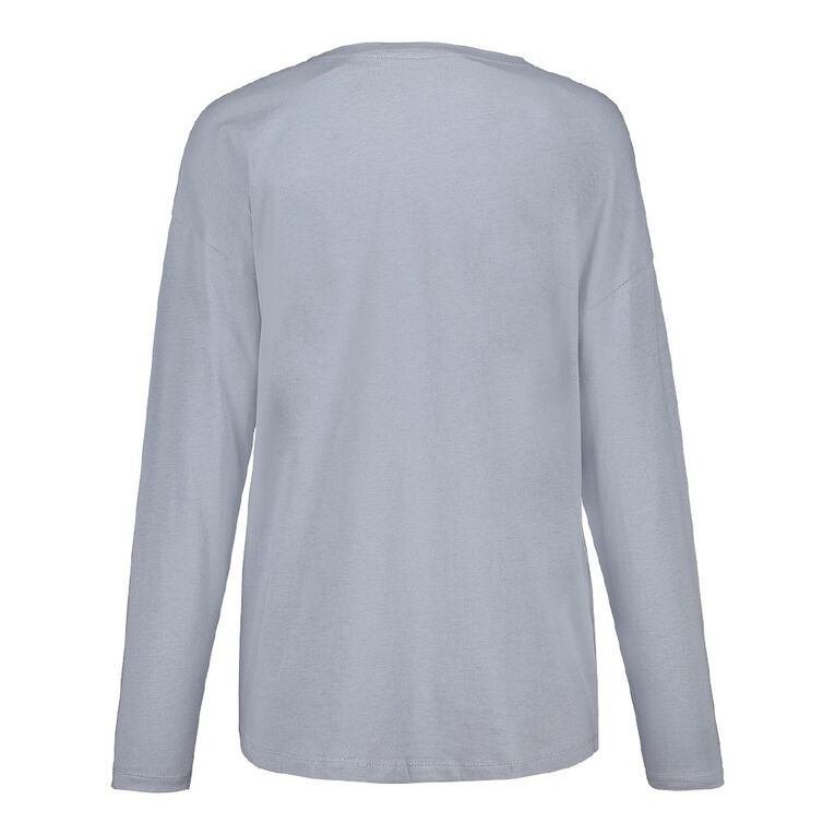 H&H Women's Long Sleeve, Blue Light, hi-res
