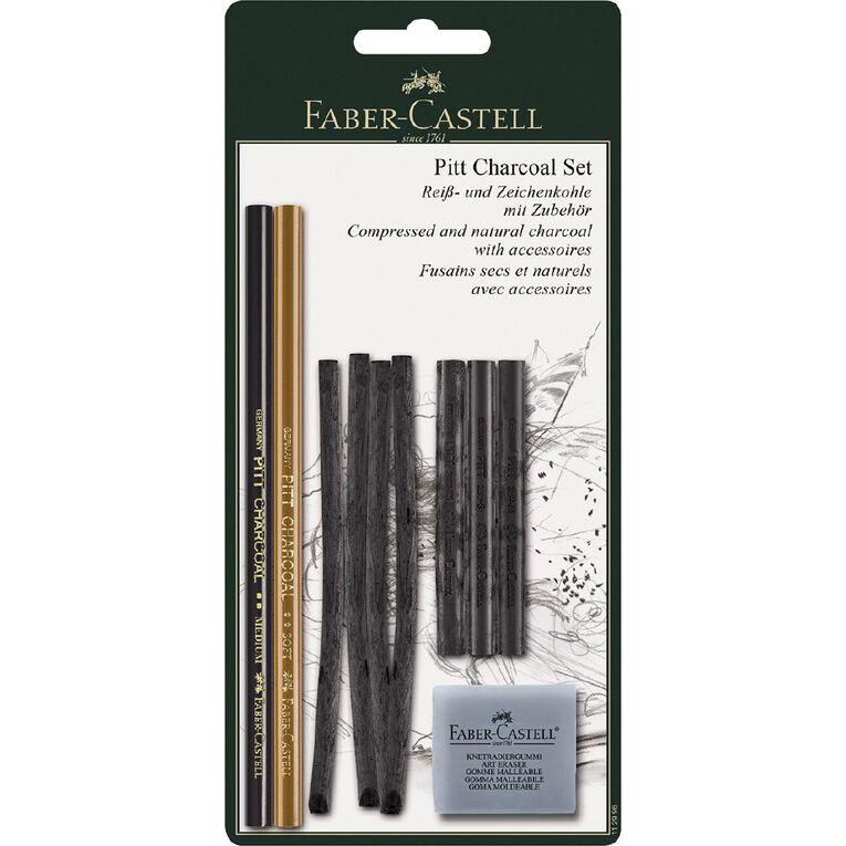 Faber-Castell Pitt Charcoal Set, , hi-res
