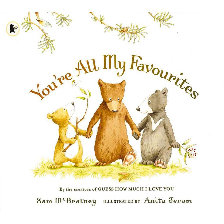 You're All My Favourites by Sam McBratney, , hi-res image number null