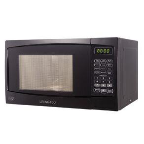 Living & Co Microwave 800w 20 Litre Black