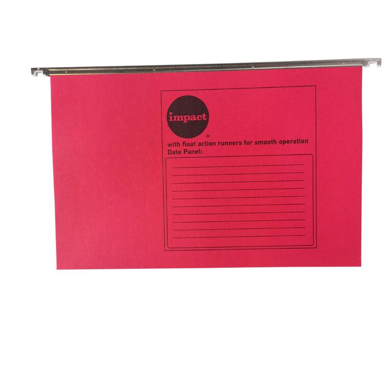 WS Suspension File 10 Pack Red, , hi-res
