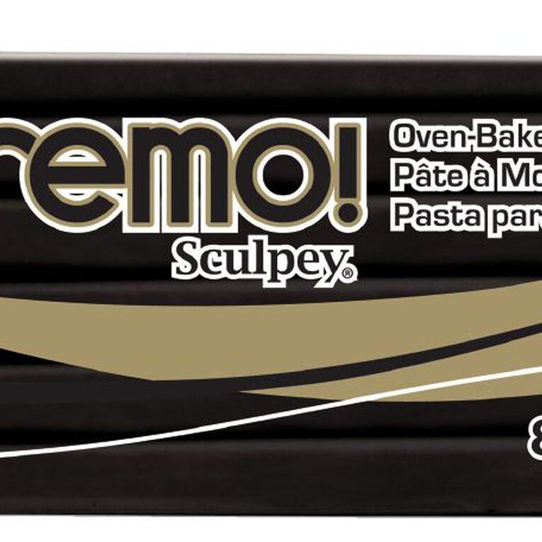 Sculpey Premo Black 226g Black, , hi-res