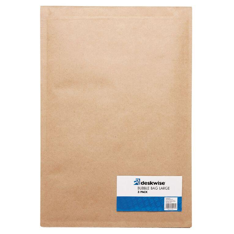 Deskwise Bubble Bag Large 3 Pack, , hi-res