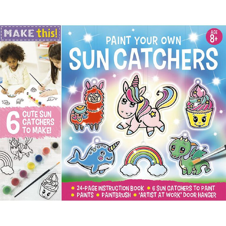 Activity Station: Paint Your Own Sun Catchers, , hi-res