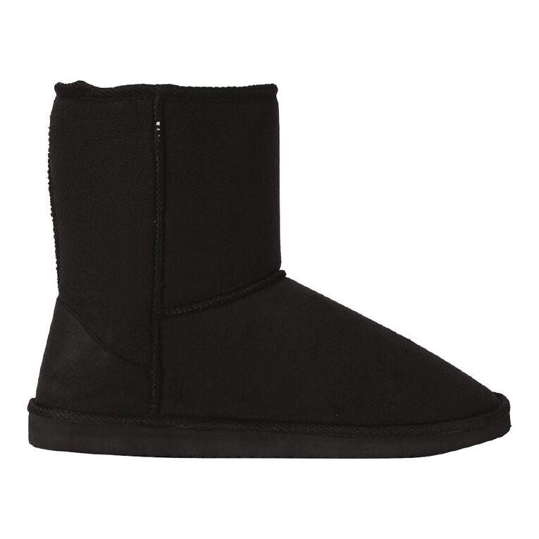 H&H Ram Slipper Boots, Black, hi-res