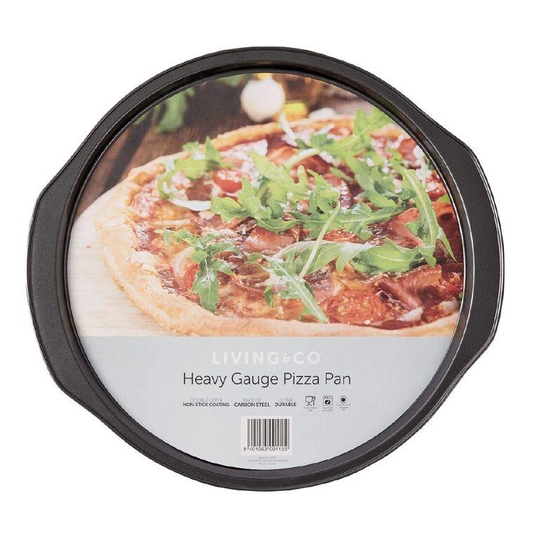 Living & Co Heavy Gauge Non Stick Pizza Pan, , hi-res