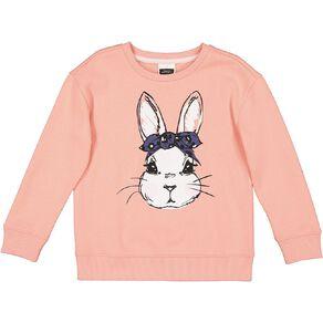 Young Original Printed Pullover Crew Sweatshirt