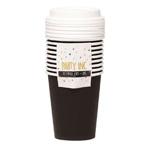 Party Inc Coffee Cups 10 Pack