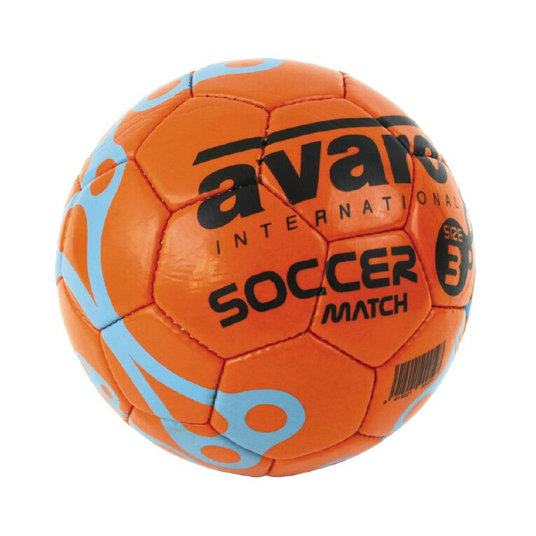 Avaro Match Soccer Ball Assorted Size 5, Assorted, hi-res image number null