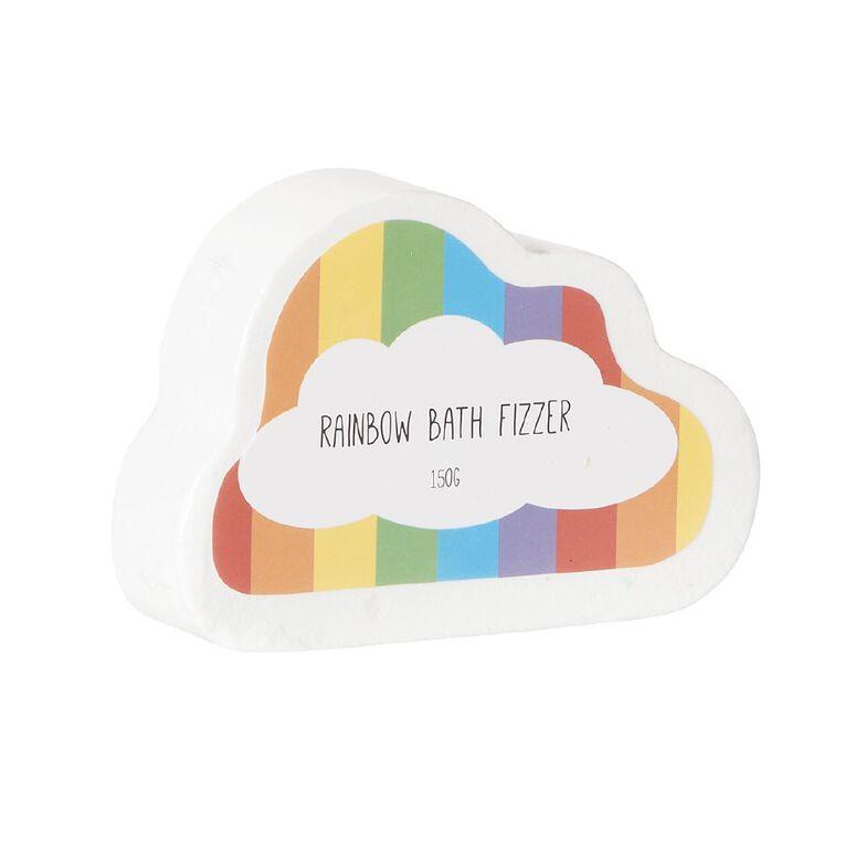 Rainbow Cloud Bath Fizzer 150g, , hi-res