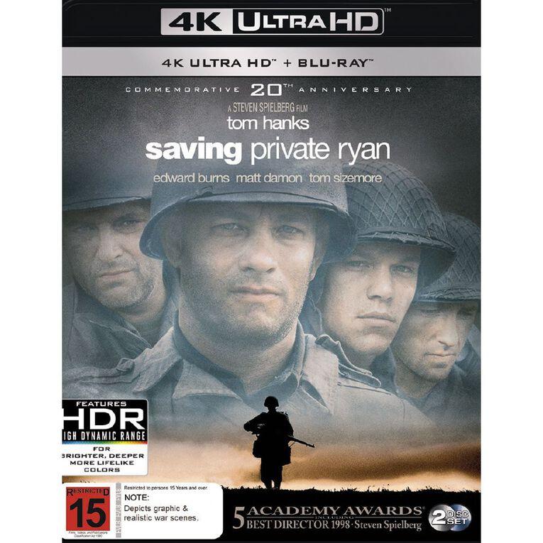 Saving Private Ryan 4K Blu-ray 2Disc, , hi-res