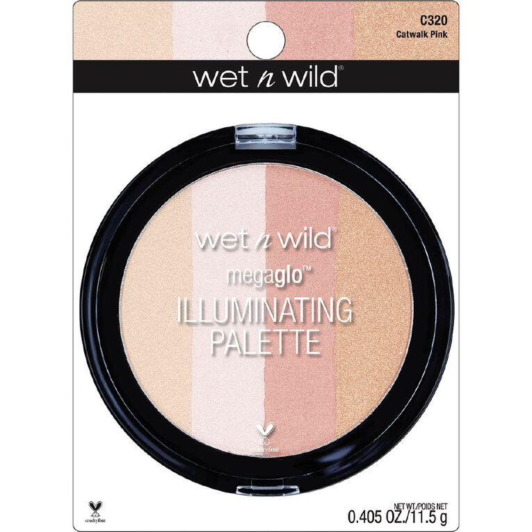 Wet n Wild MegaGlo Illuminating Palette Catwalk Pink, , hi-res