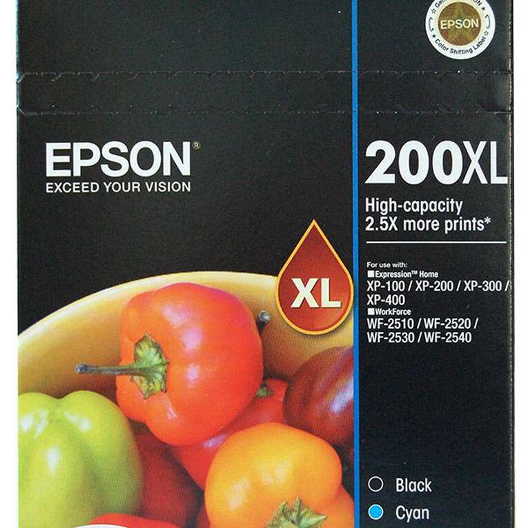 Epson Ink 200XL Value 4 Pack, , hi-res