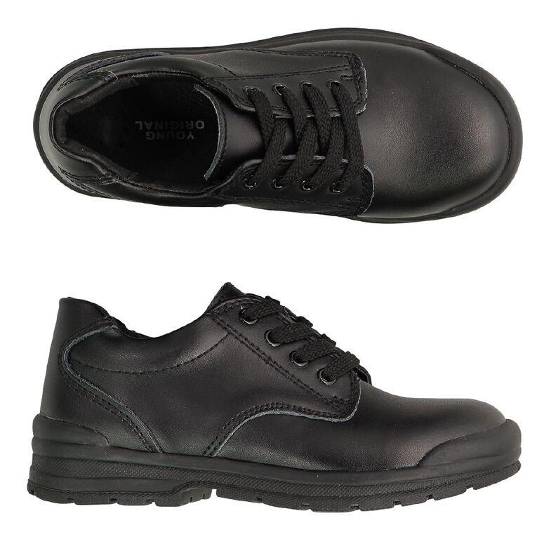Young Original Kids' Beta School Shoes, Black, hi-res