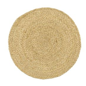 Living & Co Jute Round Placemat Natural 33cm