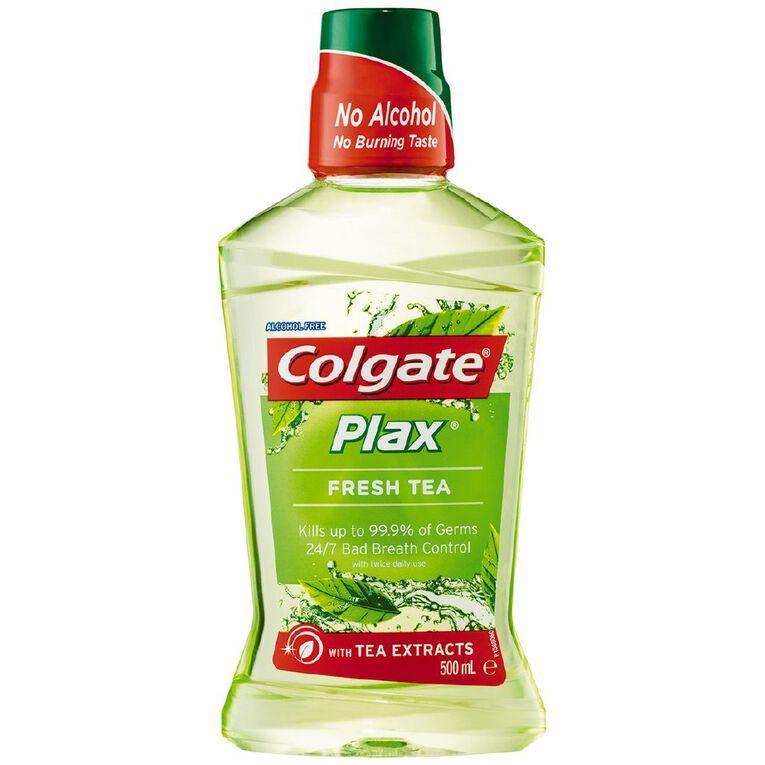 Colgate Plax Mouthwash Fresh Tea 500ml, , hi-res