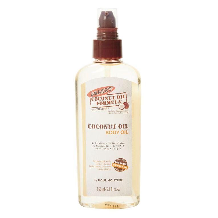 Palmer's Coconut Oil Formula with Vitamin E Body Oil 150ml, , hi-res