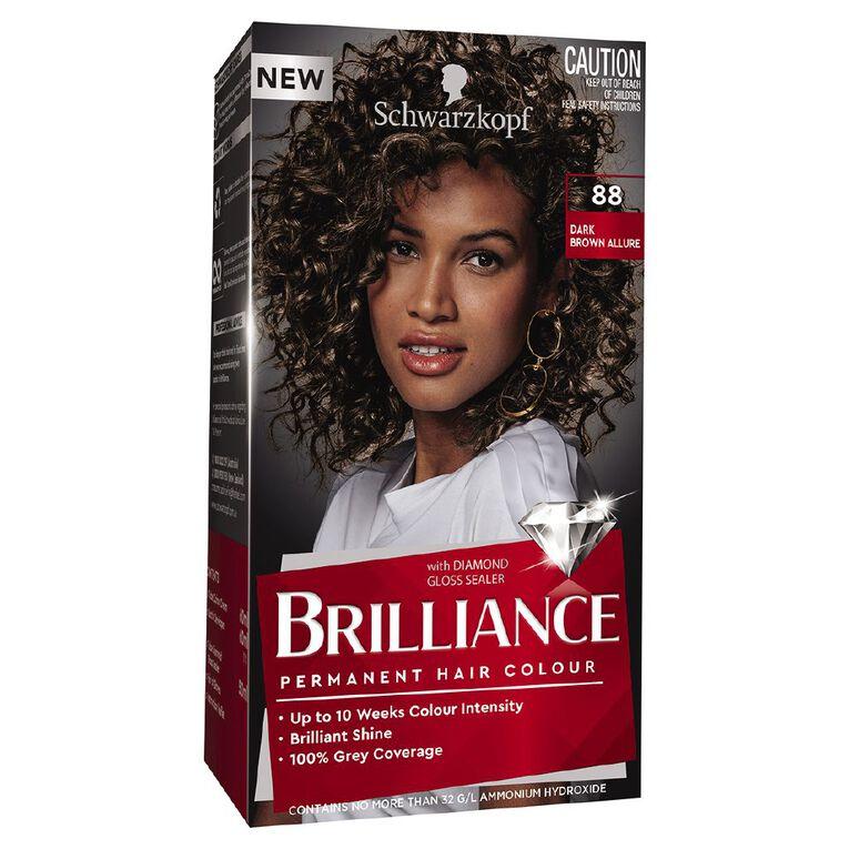 Schwarzkopf Brilliance 88 Dark Brown Allure, , hi-res
