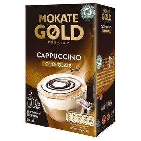 Mokate Gold Premium Cappuccino Chocolate 10 Sachets