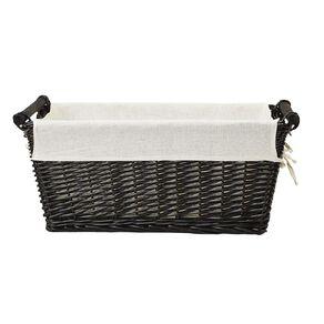Living & Co Wicker Rectangle Basket Natural Large