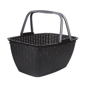 Living & Co Shopping Basket Black 21L