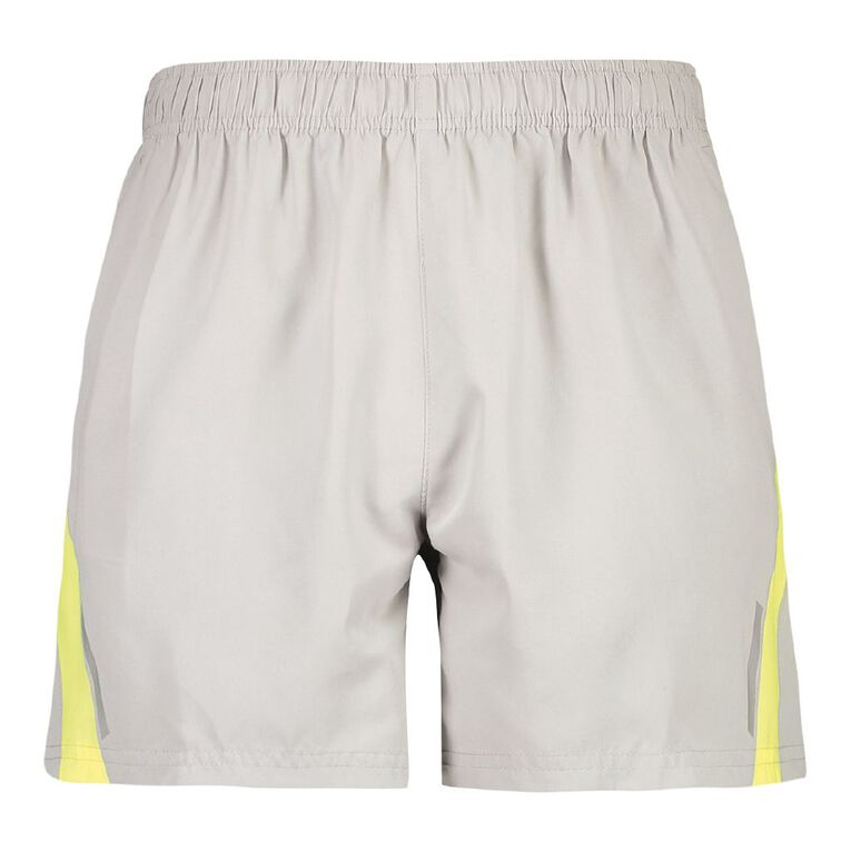 Active Intent Men's Fashion Running Shorts, Grey Light, hi-res image number null