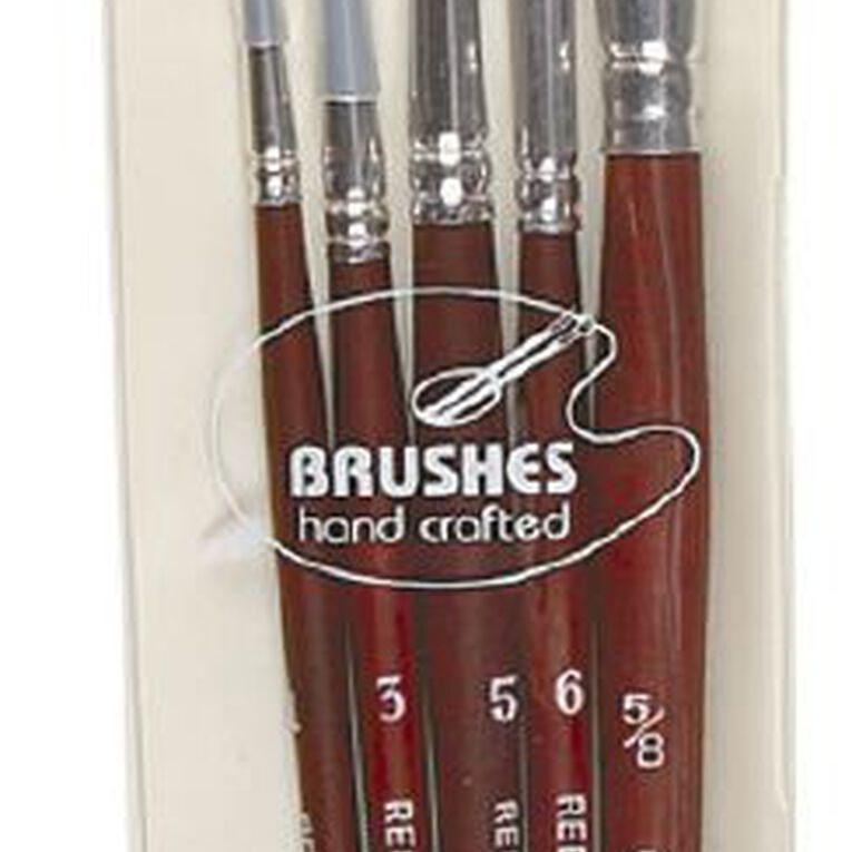 DAS Brush Set Das Red Sable & Camel 5 Pack, , hi-res