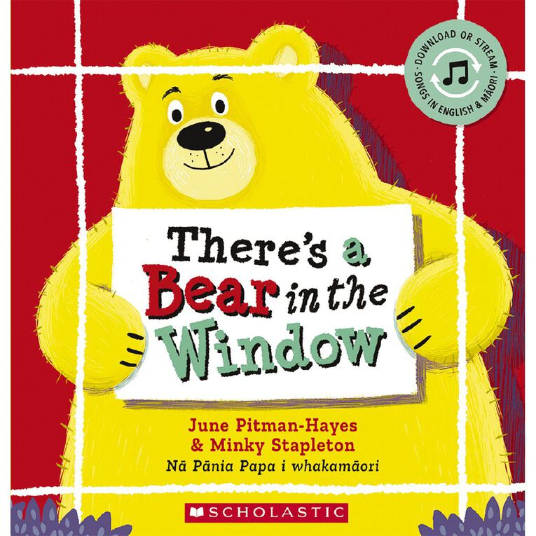 There's a Bear in the Window by June Pitman-Hayes, , hi-res