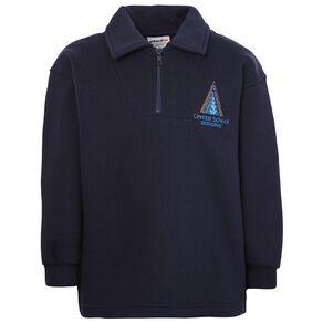 Schooltex Gisborne Central Zip Sweatshirt with Embroidery