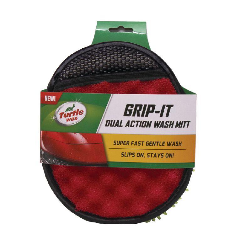 Turtle Wax Grip-It Dual Action Wash Mitt, , hi-res
