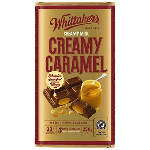 Whittaker's Creamy Caramel Block 250g
