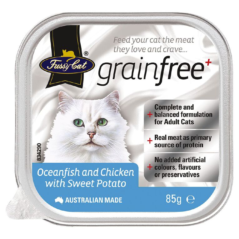 Fussy Cat Oceanfish and Chicken with Sweet Potato 85g, , hi-res