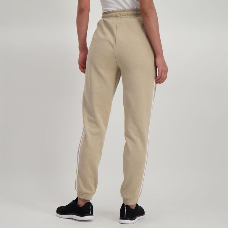 H&H Women's Striped Trackpants, Brown Light, hi-res