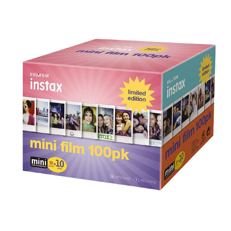 Fujifilm Instax Mini Film 100 Pack Limited Edition, , hi-res