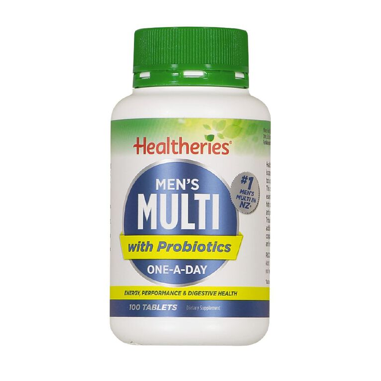 Healtheries Multi Men One A Day 100s, , hi-res