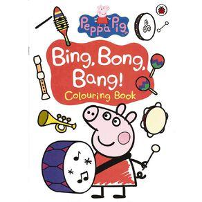 Peppa Pig: Bing Bong Bang Colouring Book