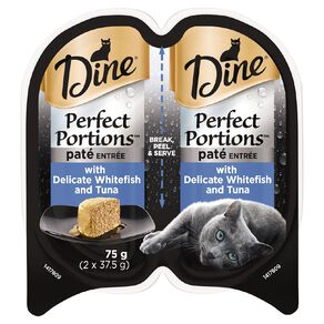 Dine Perfect Portions Pate Entree with Delicate Whitefish and Tuna 75g