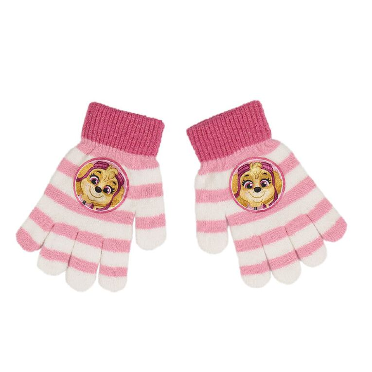 Paw Patrol Kids' Paw Patrol Gloves, Pink, hi-res