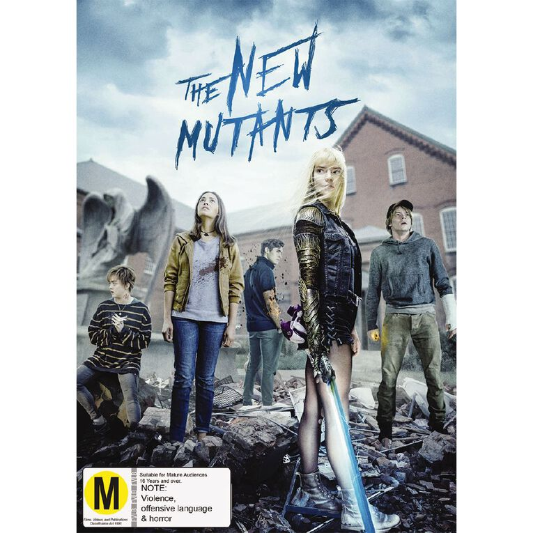 The New Mutants DVD 1Disc, , hi-res