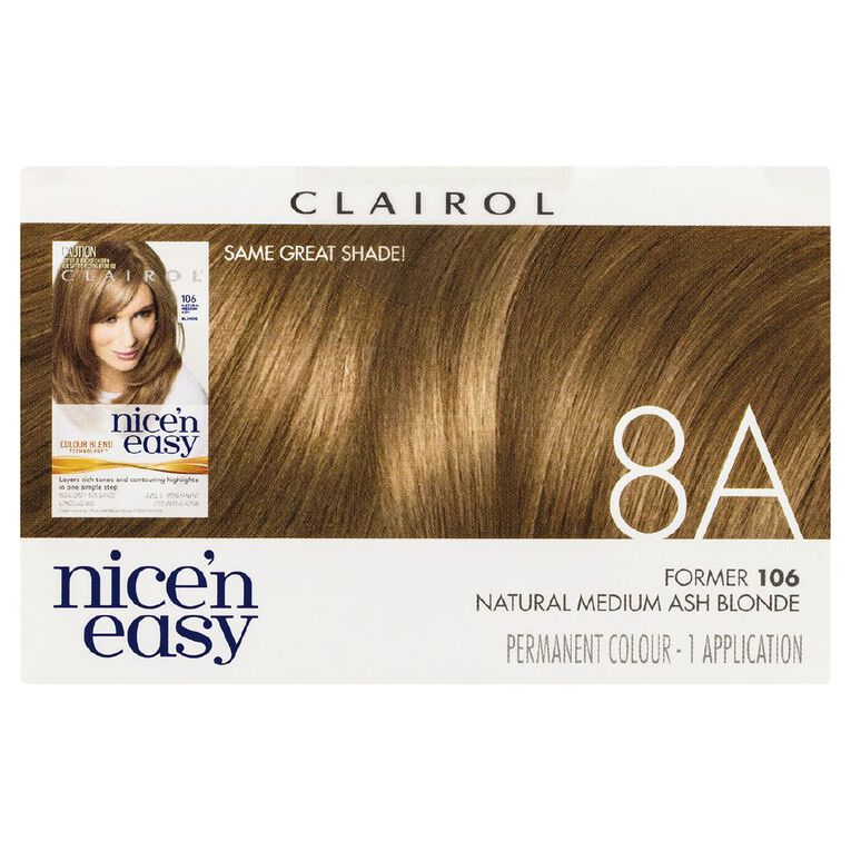Nice 'n Easy Medium Ash Blonde 8A (former 106), , hi-res