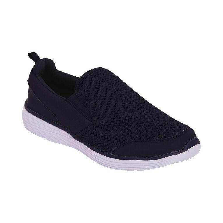 Active Intent Trang Slip On Memory Foam Shoes, Navy, hi-res