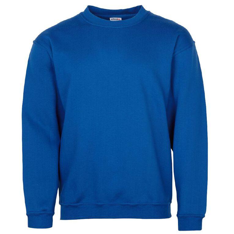 Schooltex Kids' Sweatshirt, Royal, hi-res