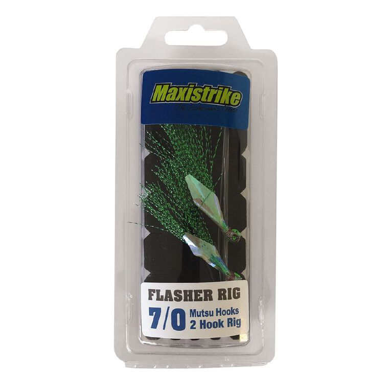 Maxistrike Flasher Rig - Mutsu Hooks 7/0, , hi-res